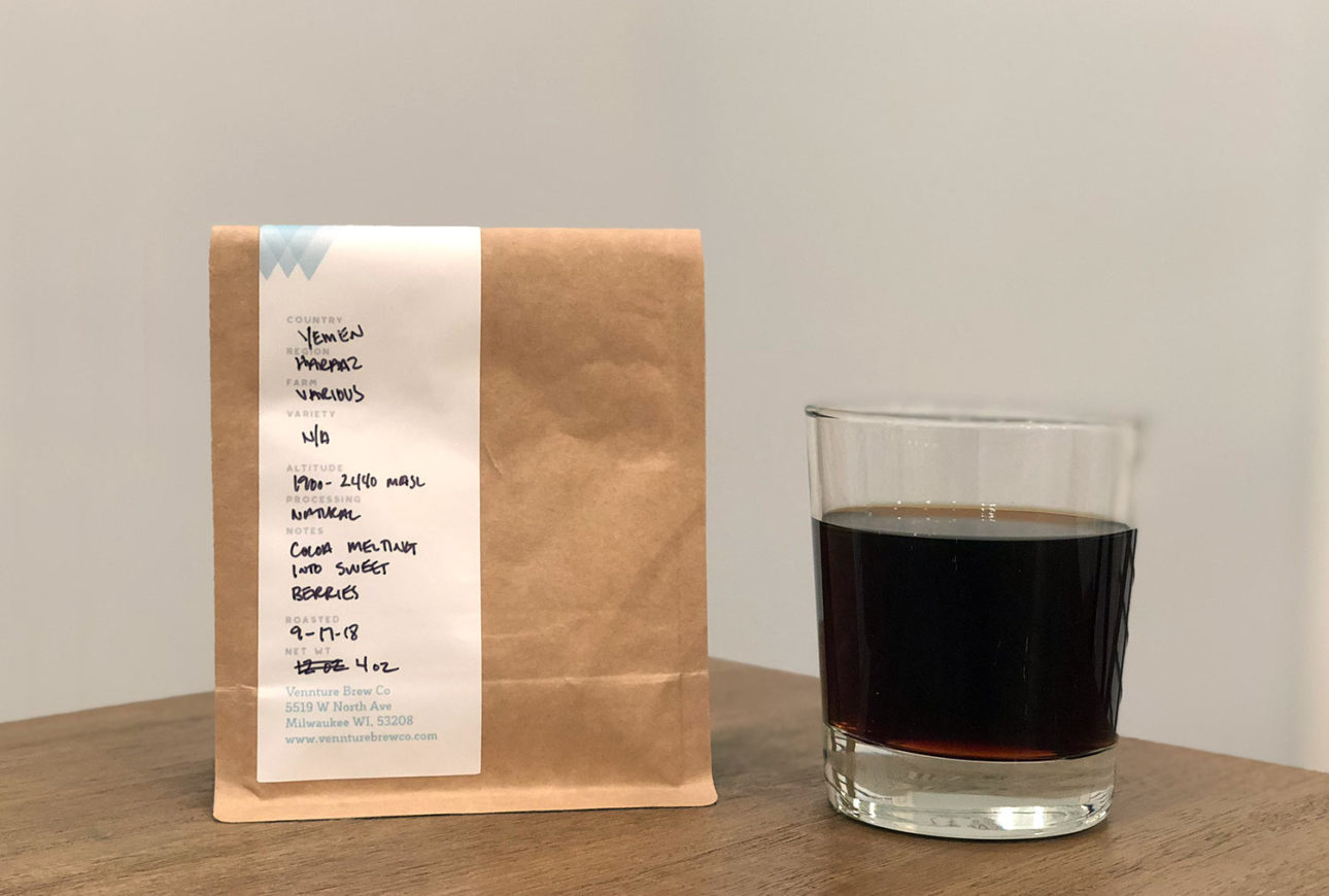 Yemen Haraaz from Vennture Brew Co