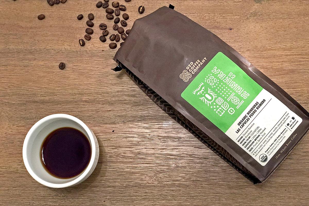 Organic Honduras Las Capucas Pedro Romero from Ozo Coffee Company