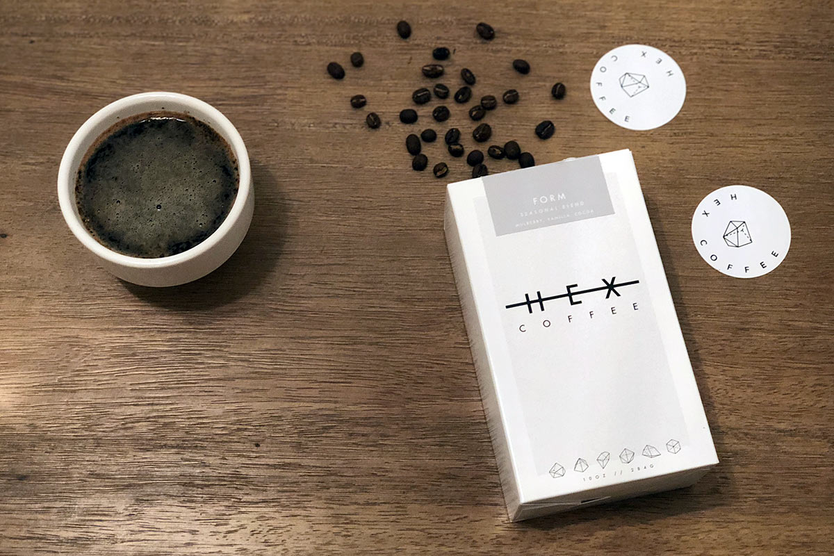 Form Seasonal Blend from HEX Coffee