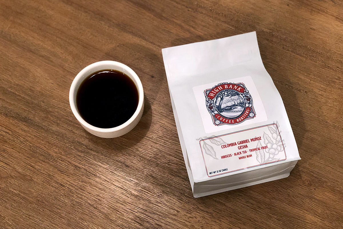 Colombia Gabriel Muñoz Gesha - High Bank Coffee Roasters