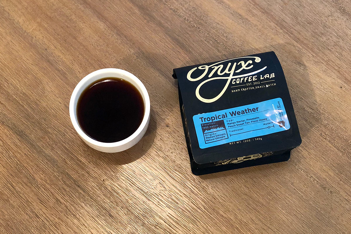 Tropical Weather Blend from Onyx Coffee Lab
