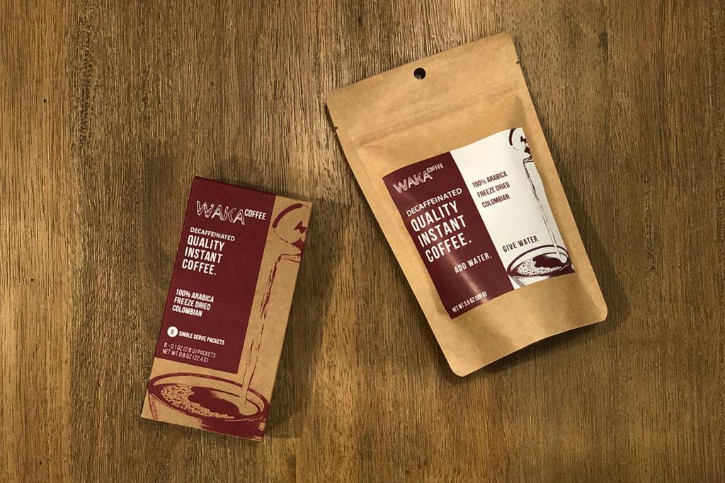Waka Coffee - Medium Roast Colombian Decaffeinated