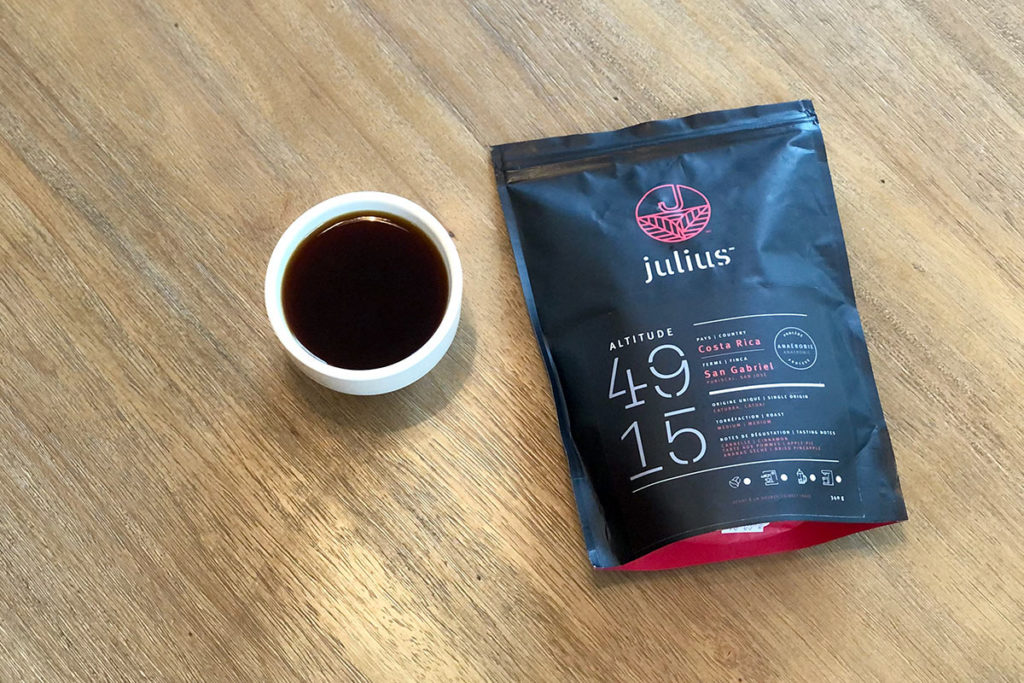 Alt 4915 coffee from Julius Coffee