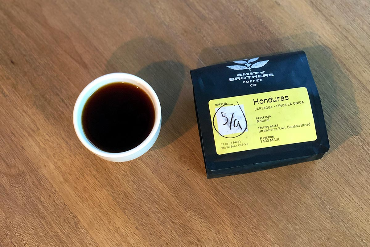 Honduras Cartagua from Amity Brothers Coffee