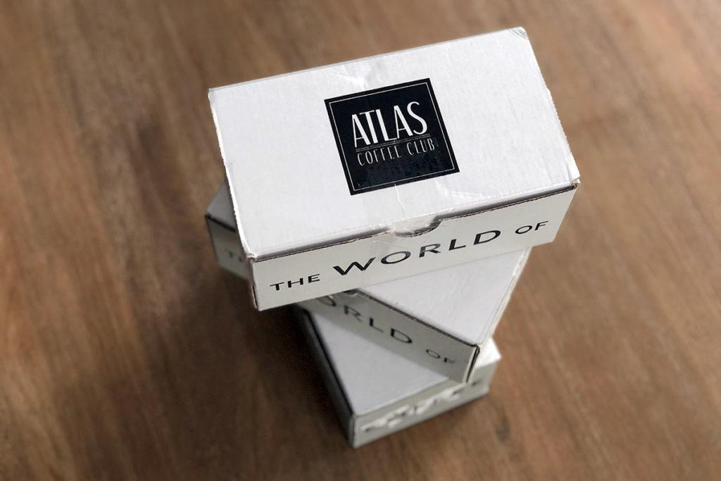 Atlas Coffee Club boxes