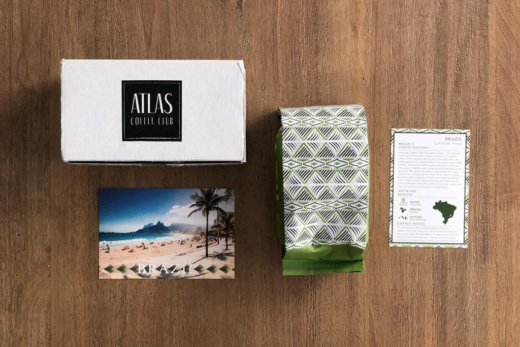 Atlas Coffee Club - Brazil coffee package