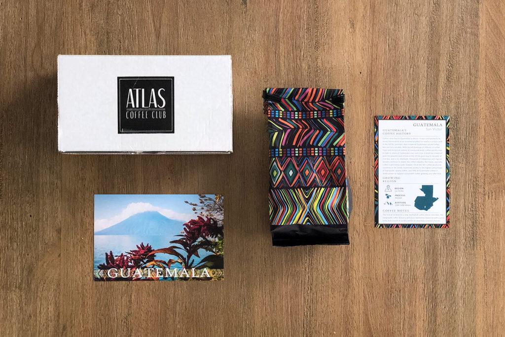Atlas Coffee Club - Guatemala coffee package