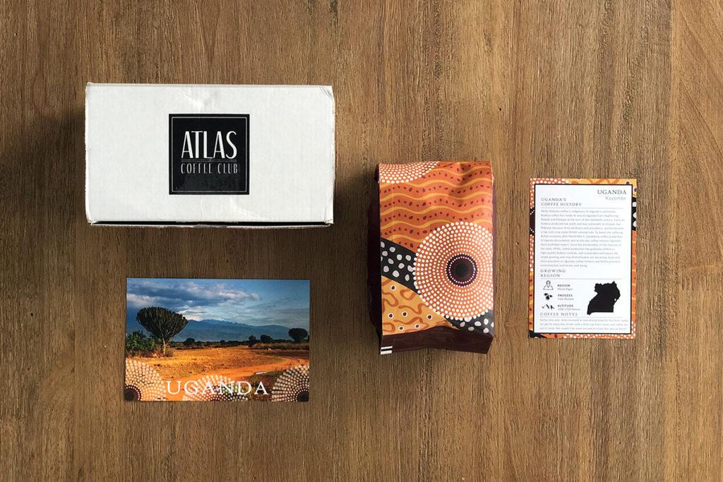 Atlas Coffee Club - Uganda coffee package