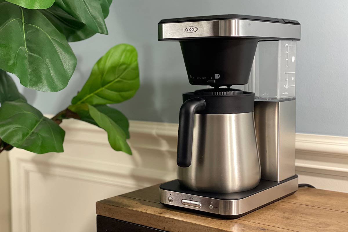 The OXO 8 Cup Coffee Maker