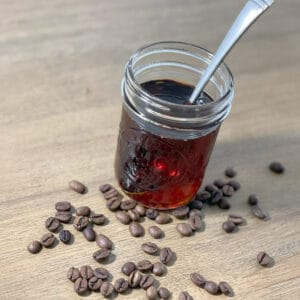 Coffee Simple Syrup by Pull & Pour