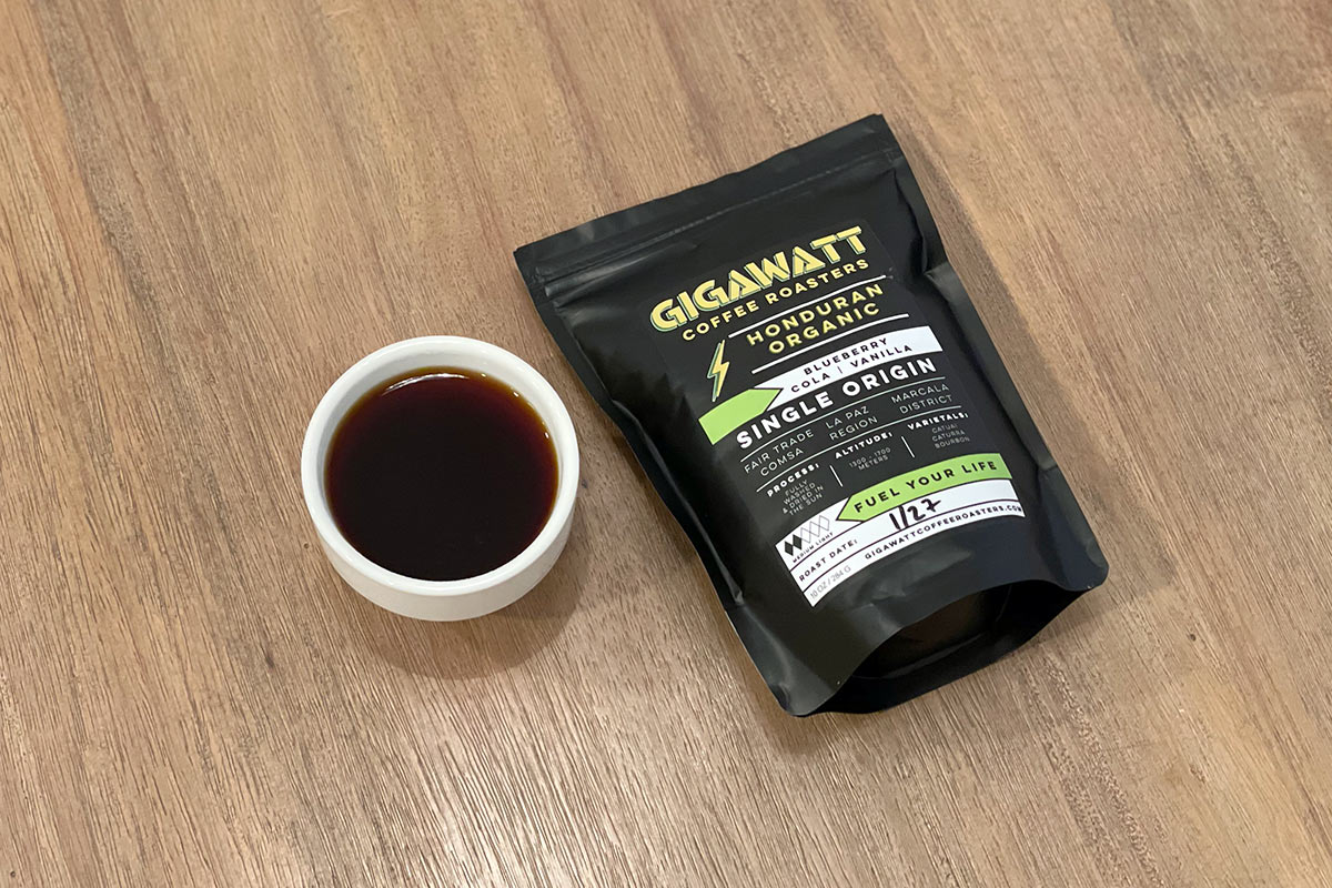 Honduran Organic from Gigawatt Coffee Roasters