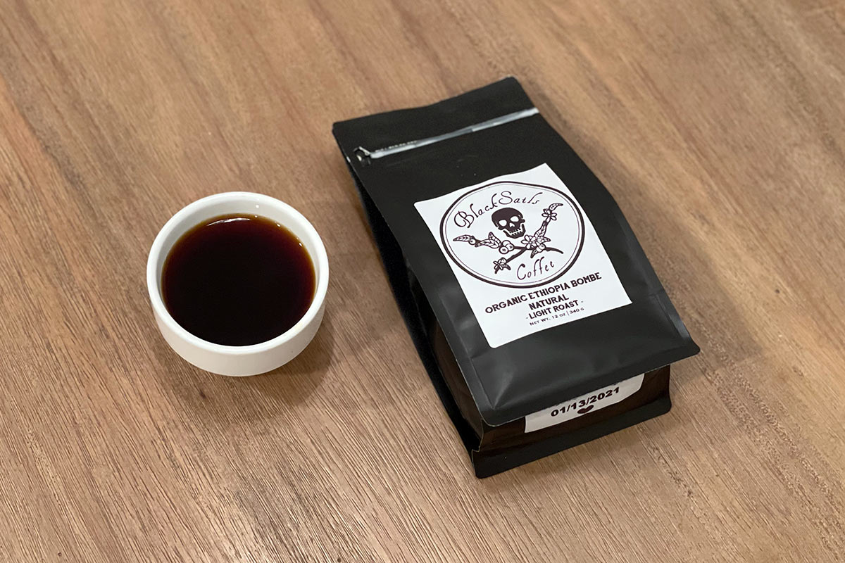 Organic Ethiopia Bombe Natural – Black Sails Coffee