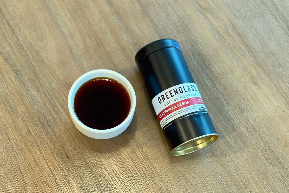 Colombian Gesha - La Estrella Natural – Greenglass Coffee Company