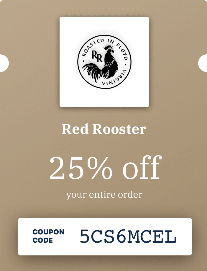 Red Rooster promo example