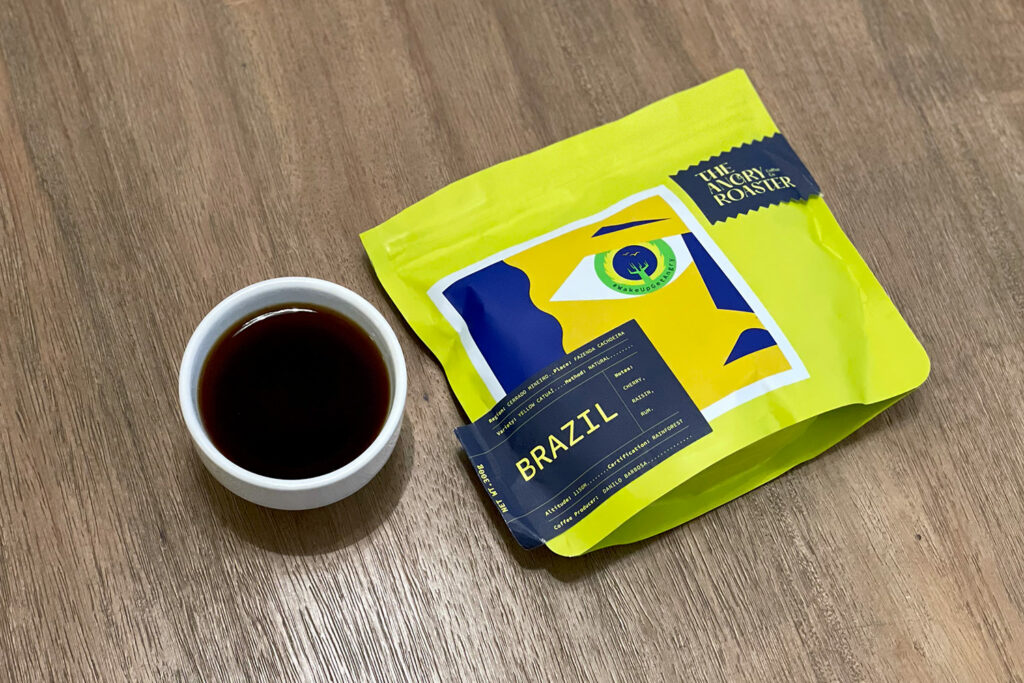 Cherry Bomb - Brazil  – The Angry Roaster Coffee Co.