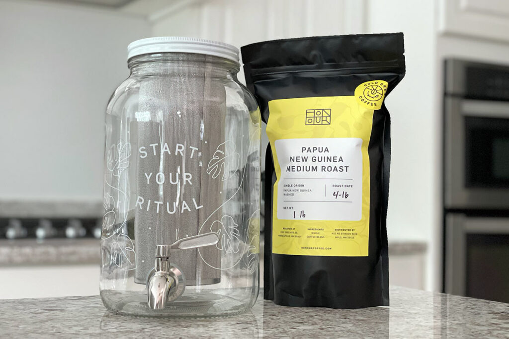 Coffee and Honour cold brew coffee maker
