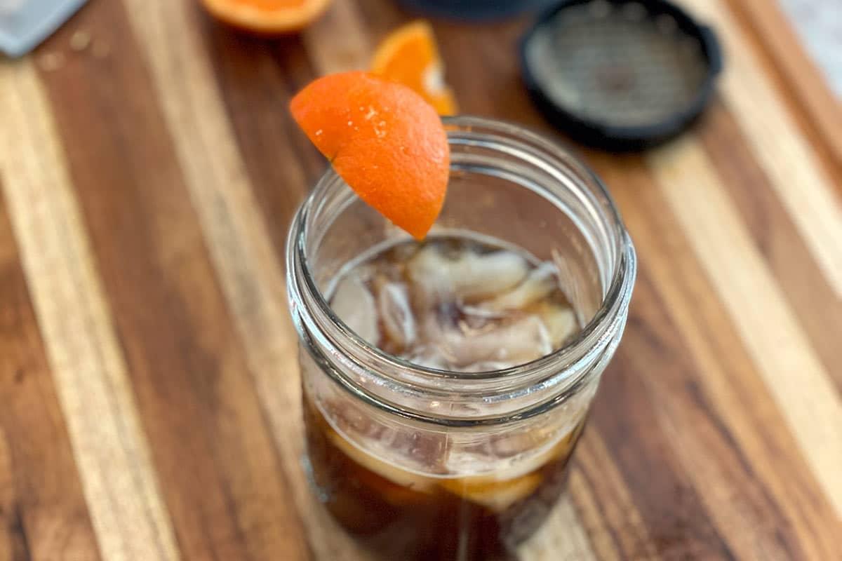 Orange-Infused Iced AeroPress