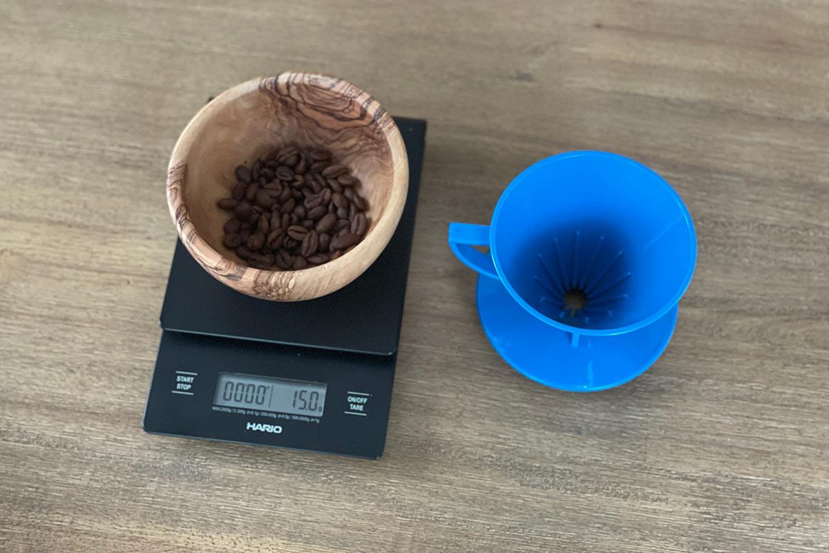 Small Kōno Pour Over Recipe