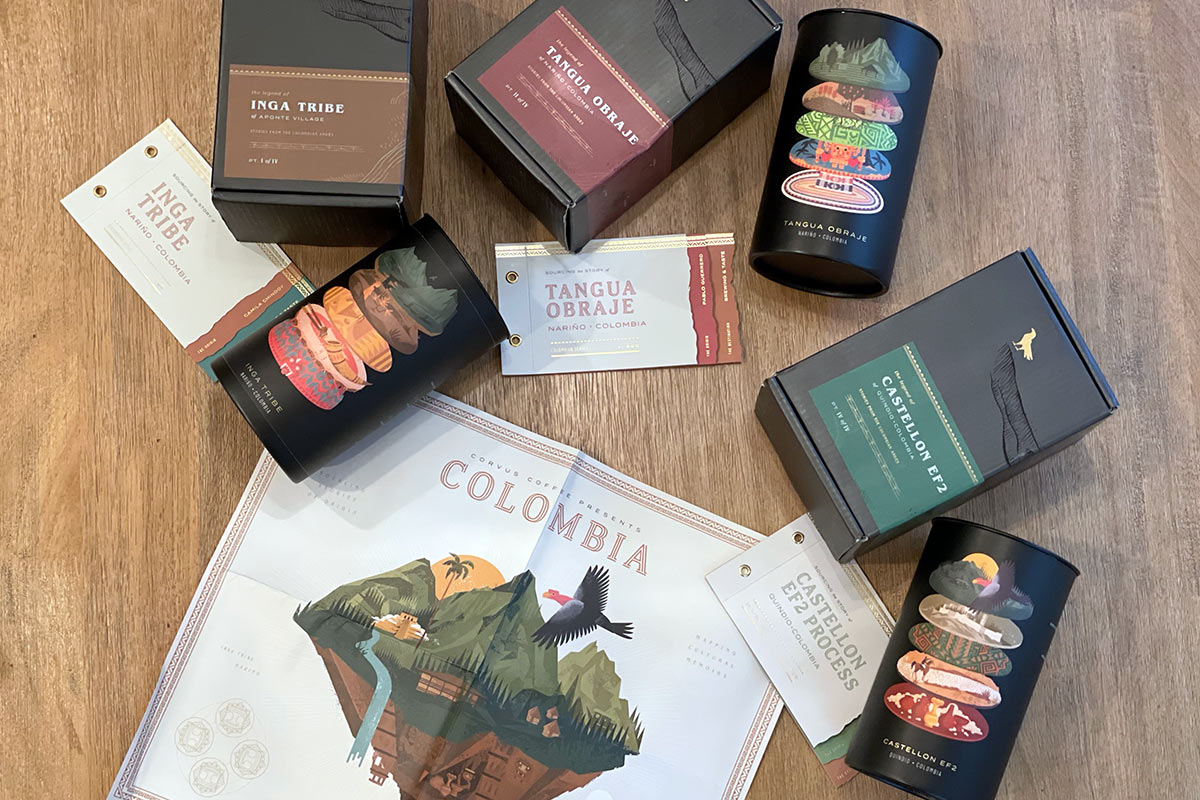 Corvus Coffee Subscription - Colombian Series
